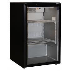 CG165GV FEKETE típusú, kereskedelmi, üvegajtós hűtőszekrény