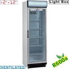 DRINK-38 T/R6 típusú ipari, nagykonyhai, Kereskedelmi üvegajtós hűtőszekrény