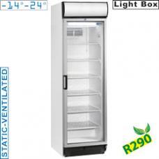E38NC/R2 típusú ipari kereskedelmi üvegajtós fagyasztószekrény