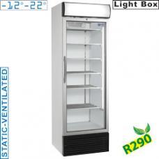 E50NC/R2 típusú ipari kereskedelmi üvegajtós fagyasztószekrény