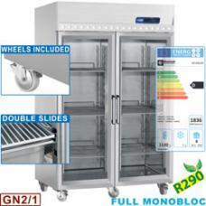 ID140G/R2 típusú ipari, nagykonyhai, Légkeveréses hűtőszekrény