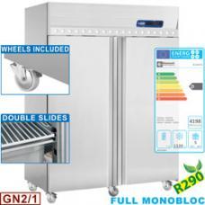 IE140/R2 típusú ipari, nagykonyhai, ventillációs fagyasztószekrény