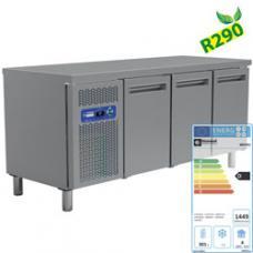 MR3/R2 típusú ipari, nagykonyhai, Hűtött munkaasztal