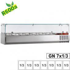 SY160/DV-R6 típusú ipari, nagykonyhai, Pizzafeltét hűtő
