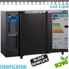 TAVT/2-R2 típusú ipari, nagykonyhai, Kereskedelmi üvegajtós hűtőszekrény