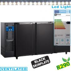 TAVT/3-R2 típusú ipari, nagykonyhai, Kereskedelmi üvegajtós hűtőszekrény