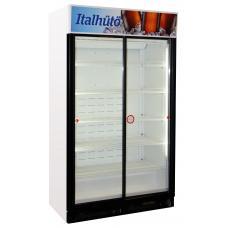 CG10GS V1 típusú, kereskedelmi, üvegajtós hűtőszekrény