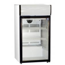 CG165GVLB típusú, kereskedelmi, üvegajtós hűtőszekrény