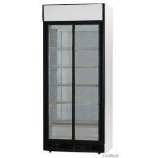 CG8GS típusú, kereskedelmi, üvegajtós hűtőszekrény
