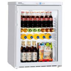 Liebherr FKUv 1613 típusú, kereskedelmi, üvegajtós hűtőszekrény