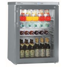 Liebherr FKUv 1663 típusú, kereskedelmi, üvegajtós hűtőszekrény