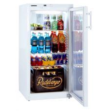 Liebherr FKv 2643 típusú, kereskedelmi, üvegajtós hűtőszekrény
