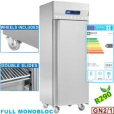 IE70/R2 típusú ipari, nagykonyhai, fagyasztószekrény