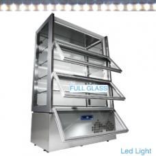 KUB/83AV típusú ipari, nagykonyhai, Süteményhűtő vitrin
