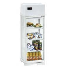 Mini cooler slim line 80L típusú, ipari- nagykonyhai hűtővitrin asztali, 1 alkalommal használt