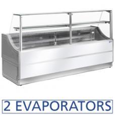 OL104/A2-R típusú ipari, nagykonyhai, Hűtőpult, csemegepult
