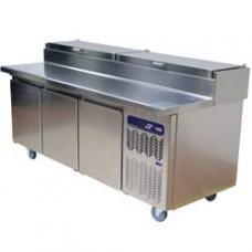 TS31-US/L típusú ipari, nagykonyhai, Hűtött pizzaasztal