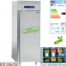 CAB61/H1-R2 típusú ipari, nagykonyhai, Cukrászati sütőipari fagyasztószekrény
