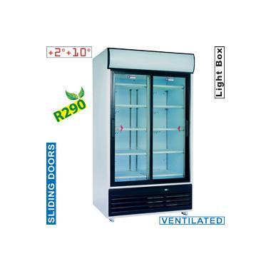 a9bf66b99c20 DRINK-110S/T típusú ipari, nagykonyhai, Kereskedelmi üvegajtós hűtőszekrény
