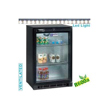 TAB1/D-R6 típusú ipari, nagykonyhai, Kereskedelmi üvegajtós hűtőszekrény