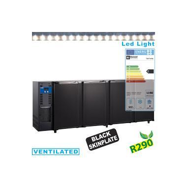 TAVT/4-R2 típusú ipari, nagykonyhai, Kereskedelmi üvegajtós hűtőszekrény