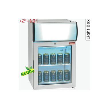 TOP50PC/R6 típusú ipari, nagykonyhai, Kereskedelmi üvegajtós hűtőszekrény