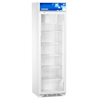 Liebherr FKDv 4213 típusú, kereskedelmi, üvegajtós hűtőszekrény