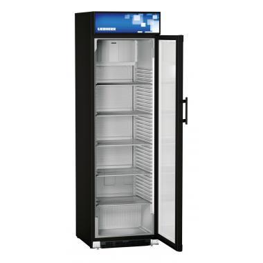 Liebherr FKDv 4213 var. 744 típusú, kereskedelmi, üvegajtós hűtőszekrény